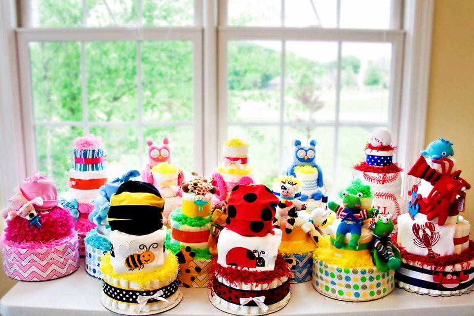 How To Make A Boutique Style Diaper Cake Diaper Cake