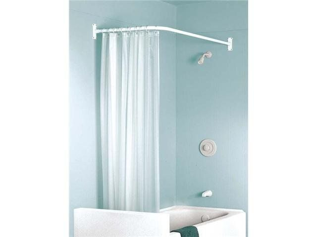 Shower Curtain Rods, Odd Shaped Shower Curtain Rods