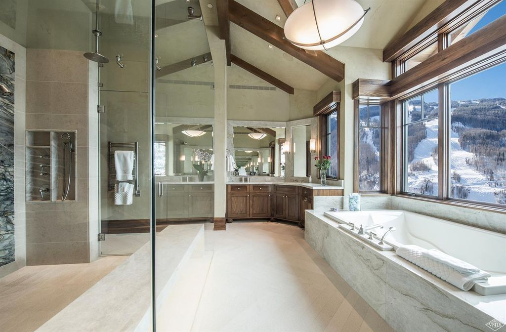 View 24 photos of this $24,900,000, 5 bed, 9.0 bath, 12221 sqft single family home located at 1000 Spraddle Creek Rd, Vail, CO 81657 built in 2015. MLS # 928120.