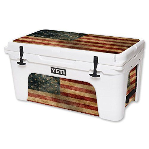 MightySkins Protective Vinyl Skin Decal for YETI Tundra 65 qt Cooler wrap cover sticker skins Vintage Flag MightySkins http://www.amazon.com/dp/B01BCL81TC/ref=cm_sw_r_pi_dp_OAv9wb1AQA26Q