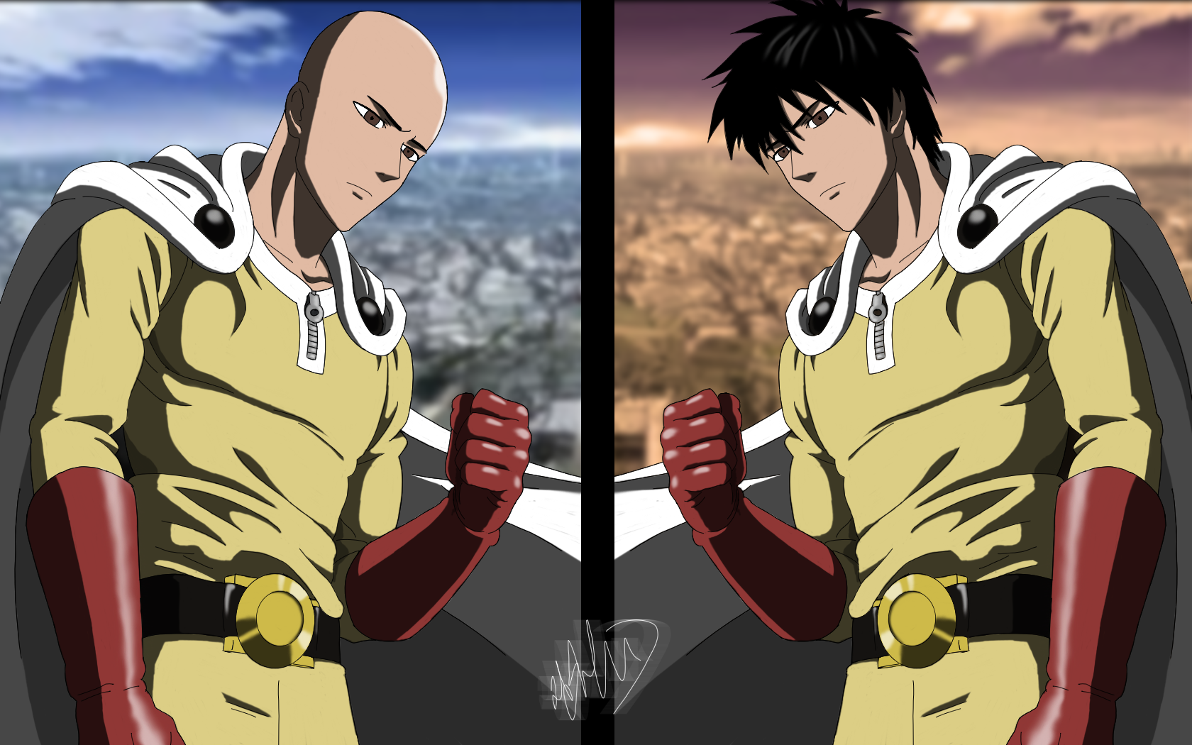 Anime OnePunch Man Saitama Wallpaper (With images) One