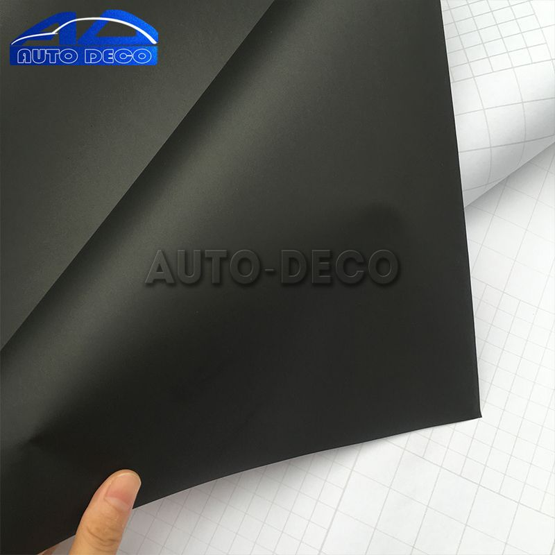 5ee0866319 Matte Black Vinyl Car Wrap Car Motorcycle Scooter DIY Styling ...