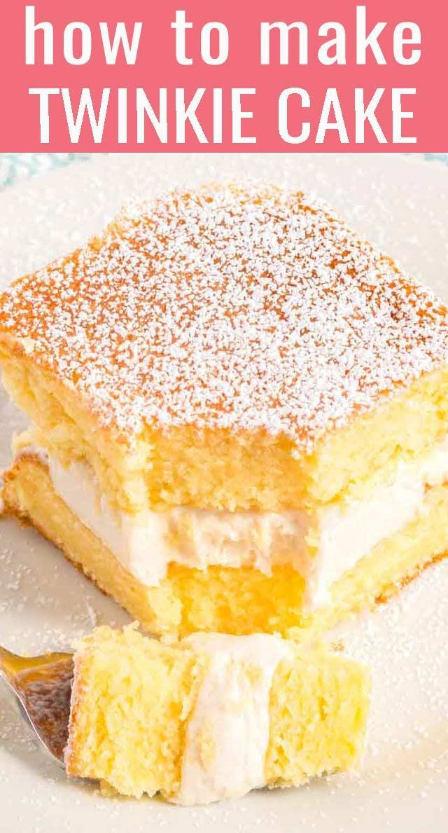 Twinkie Cake Recipe - The Best Cake Recipes {Cakes for All Occasions}