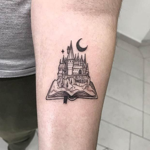 47 Cool and Magical Harry Potter Inspired Tattoos | Page 4 of 5 | StayGlam
