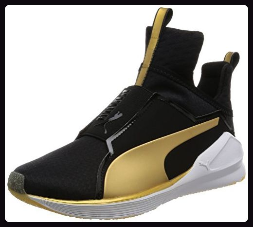 70faf47a7e15 Puma Fierce Damen Hohe Sneakers, Schwarz (Black-Gold 02), 37 EU ...