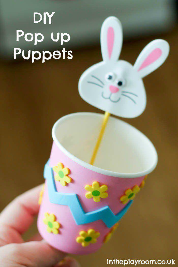 joguinho esconde aparece páscoa pinterest paper cup crafts