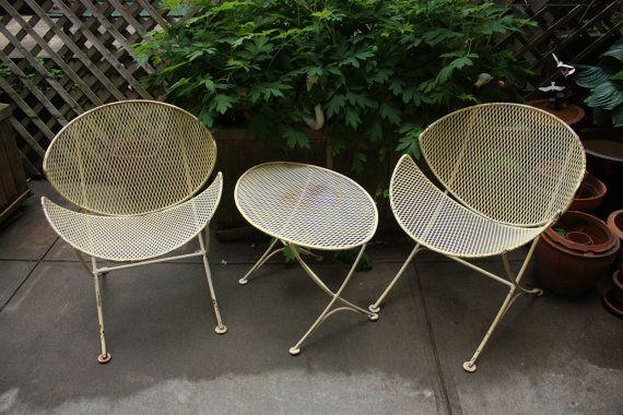 mid century patio chairs | Patio Furniture / Mid Century SALTERINI