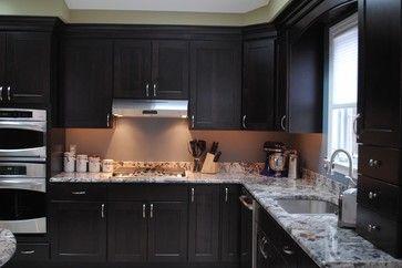 java maple shaker cabinets homecrest dover maple java contemporary kitchen homecrest on kitchen cabinets java id=18814