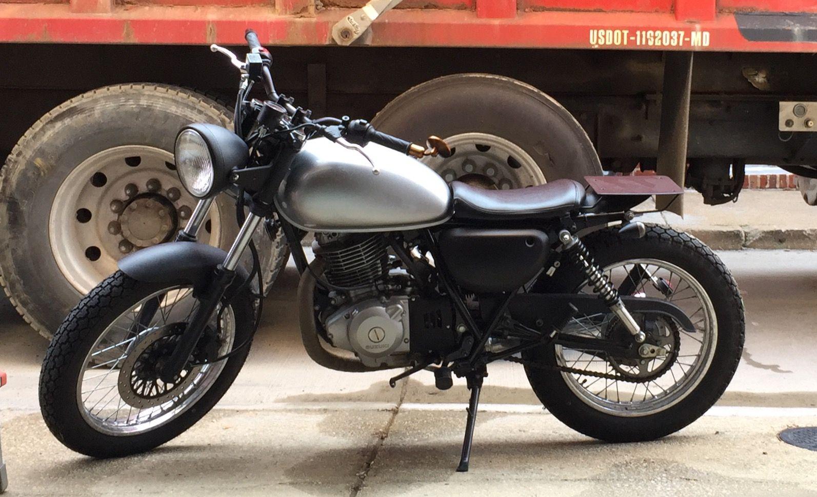 Suzuki TU250X Scrambler | Motorcycles | Motorbikes