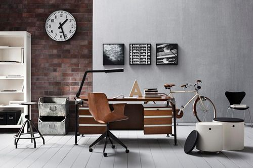 Surprising 1000 Images About Office On Pinterest Industrial Office Design Largest Home Design Picture Inspirations Pitcheantrous