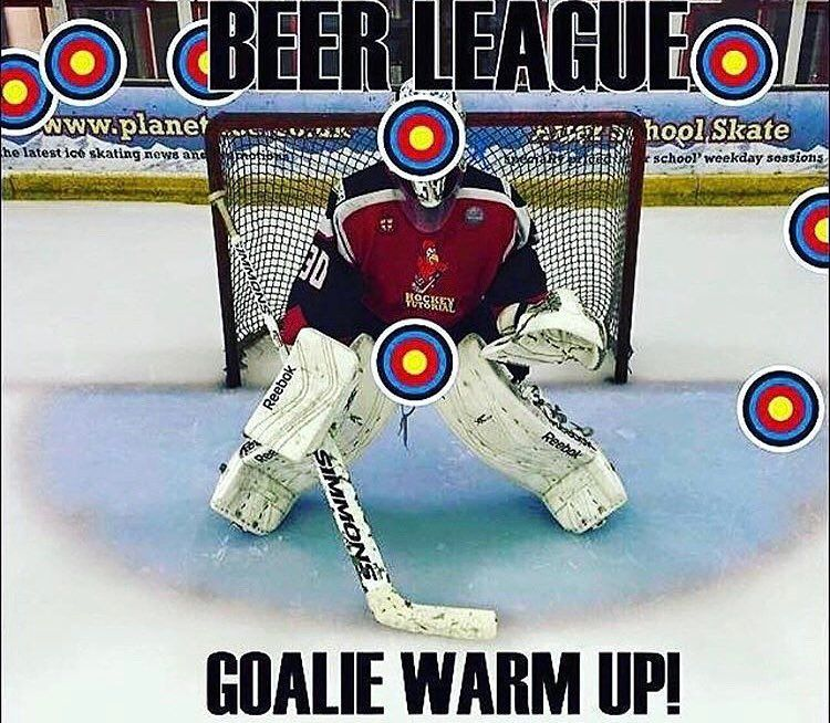 Im not even in Beer league and this is still my teams warmup Go Follow My 693d4070b