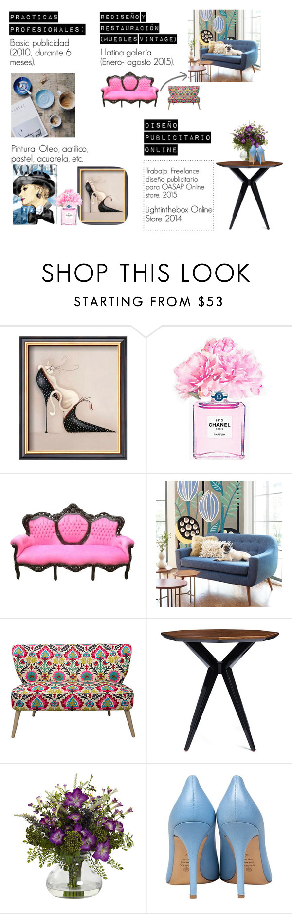 """Sin título #466"" by cano315 on Polyvore featuring moda, Chanel, Kate Spade y Semilla"