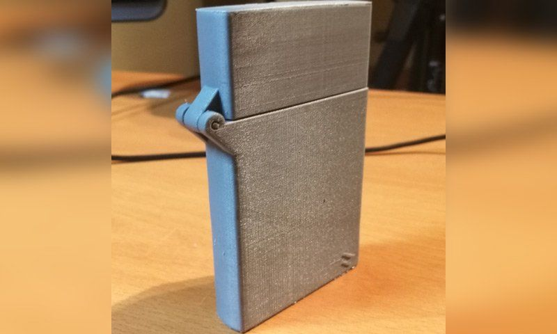 Image Of Cool Things To 3d Print Zippo Business Card Holder