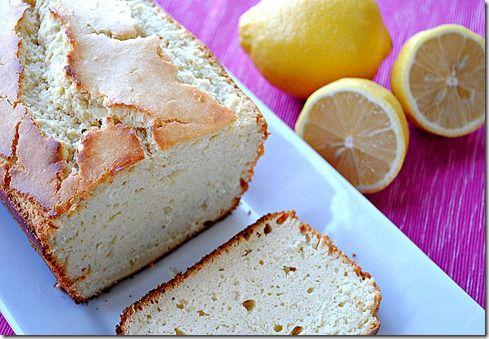 Eat Yourself Skinny!: Lemon Pound Cake - 4 WW points