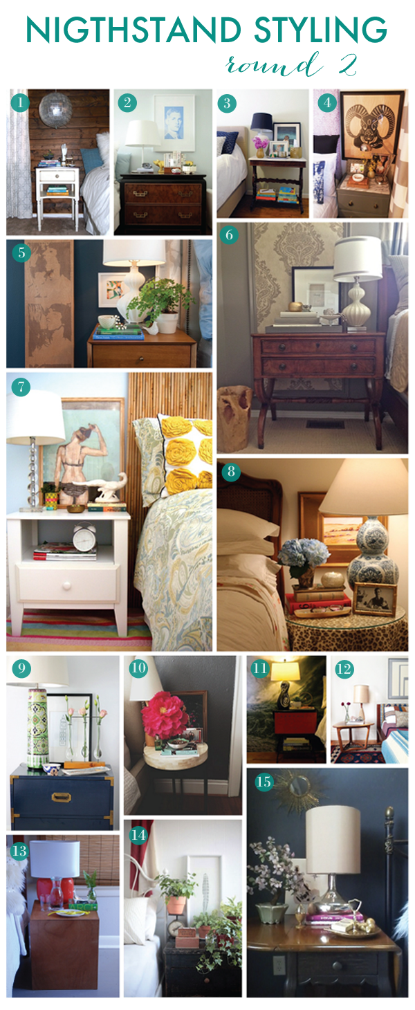 Nightstand Styling Contest Winners Home Decor Home Home