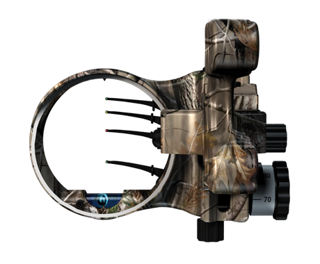 The 3 Fixed Pin Plus 1 Hybrid Floating Pin Sight Allows The Hunter To Dial His Distance To The Exact Yard In A Matter Of Second Archery Outdoor Gear Bow Sights