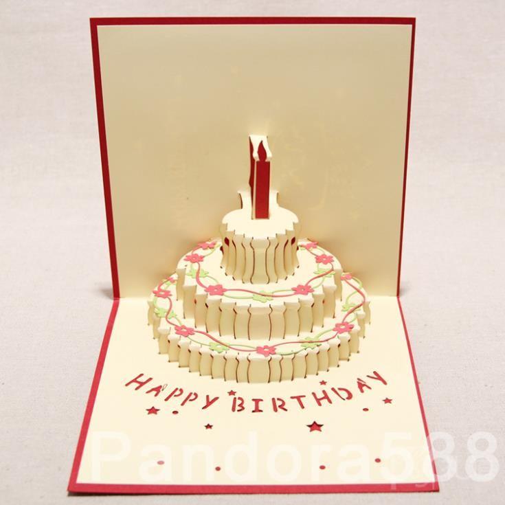 Birthday Handmade 3d Card Birthday 3dcards Cards Birthdaycard Love Happy Www 3dc Happy Birthday Valentines Day Happy Birthday Cards Pop Up Greeting Cards