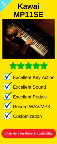 Best stage digital piano the Kawai MP11SE | Digital Pianos