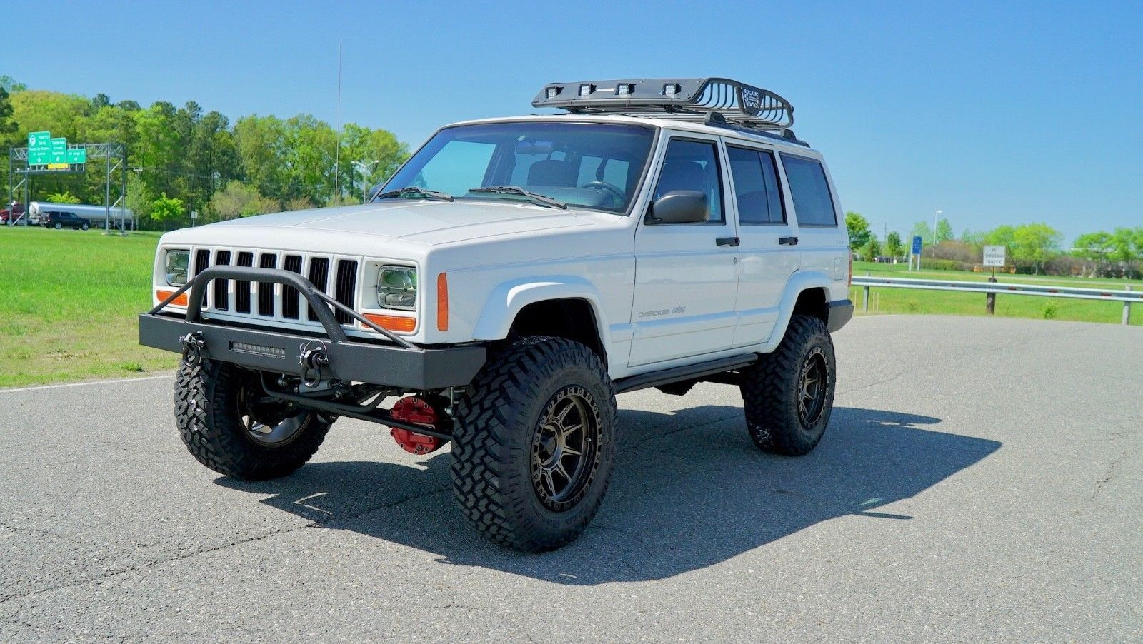 1999 Jeep Cherokee New Lift Steering Wheels Tires More