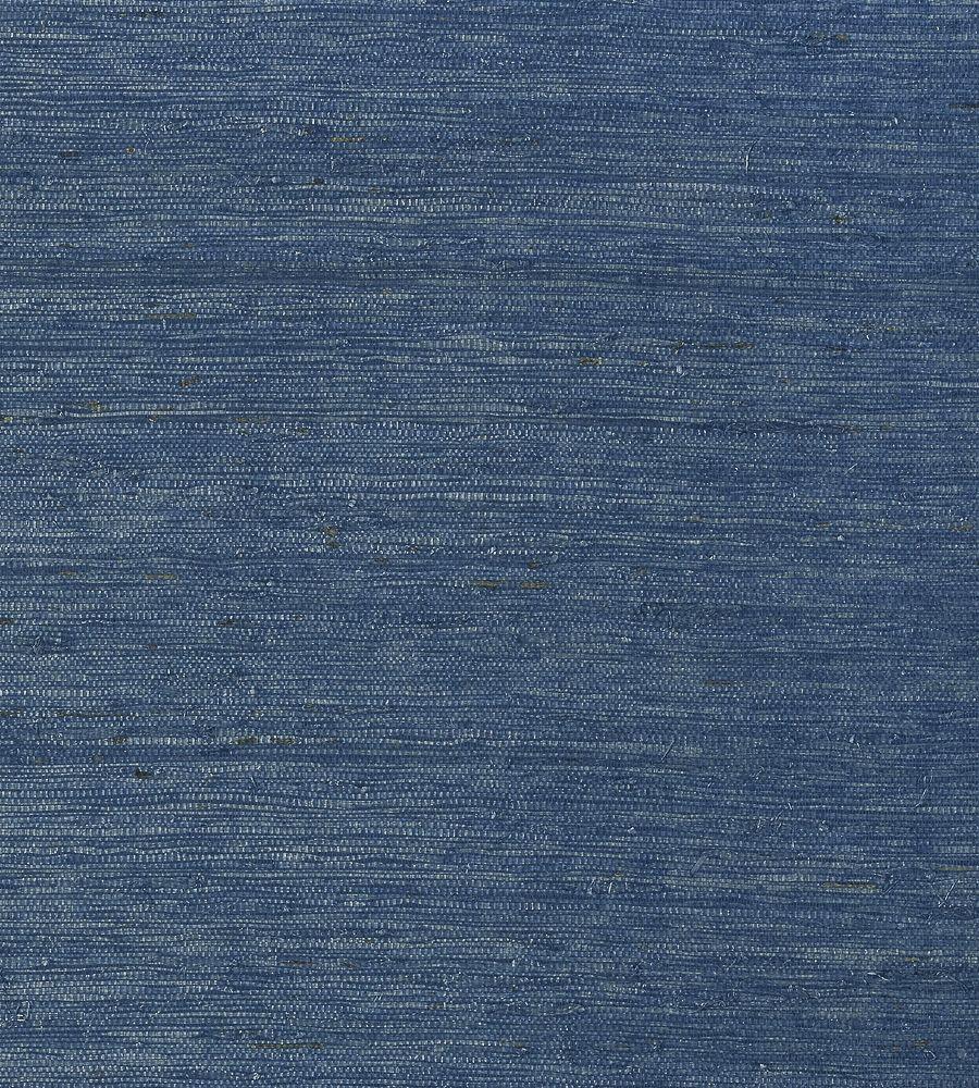 Thibaut Maranta Arrowroot Navy Wallpaper T85010
