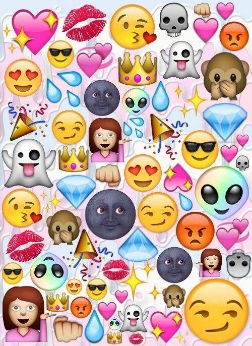 Emoji Wallpaper Galaxy Art Iphone Backgrounds Wallpapers Drawing Things Emojis We Heart It Fur Background
