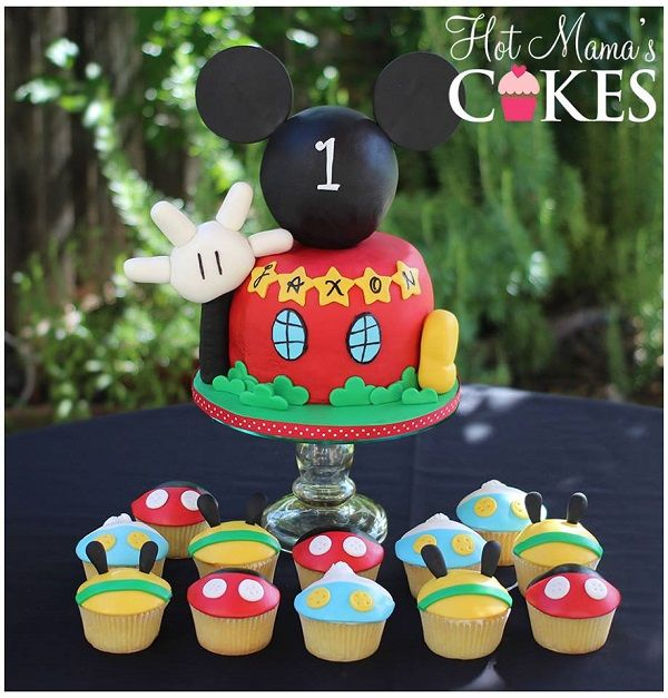 Grin From Ear To Ear Creative Mickey Mouse Cakes Designs Mickey