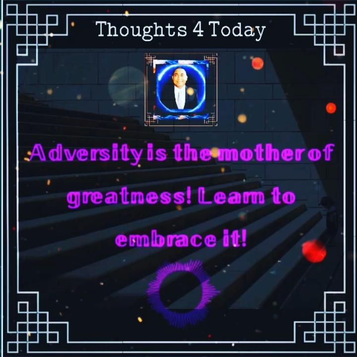  Thoughts 4 Today 💡 Without adversity you will u under appreciate your success, nor unlock your full potential to achieve greatness  . It's part of life learn to embrace it . . . #thoughts #thoughtsinwords #thoughtsnlife #thoughtsbecomethings #thoughtsoftheday #thoughtstoponder #motivationalthoughts #lifethoughts #inspirationalthoughts #thoughtsfortheday #shares #shareit #shared #valued #valuecreation #valueadded #inspiredaily #inspireothers #inspires #hawaiilove