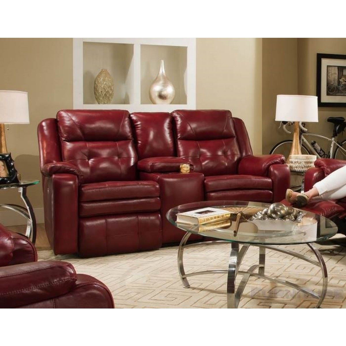 Southern Motion   Double Reclining Loveseat   850 21 | Great Furniture Deal