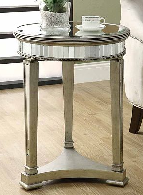 Monarch Mirrored Accent Table Home Style Pinterest Mirrored Accent Table Bedroom Themes