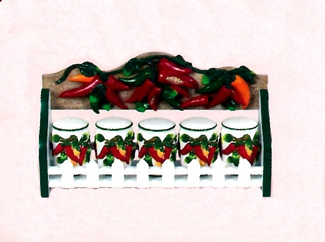 Attrayant How About This Fun And Colorful Chili Pepper Kitchen Decor. Description  From Kansas City