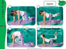 Résultats de recherche d'images pour «fiche de yoga pour enfant a imprimer»
