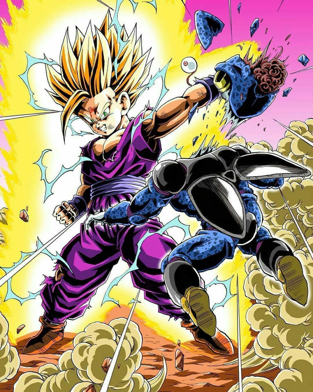 Gohan Ssj2 Dragon Ball Z Dragon Ball Dragon Ball Wallpapers Dragon Ball Goku