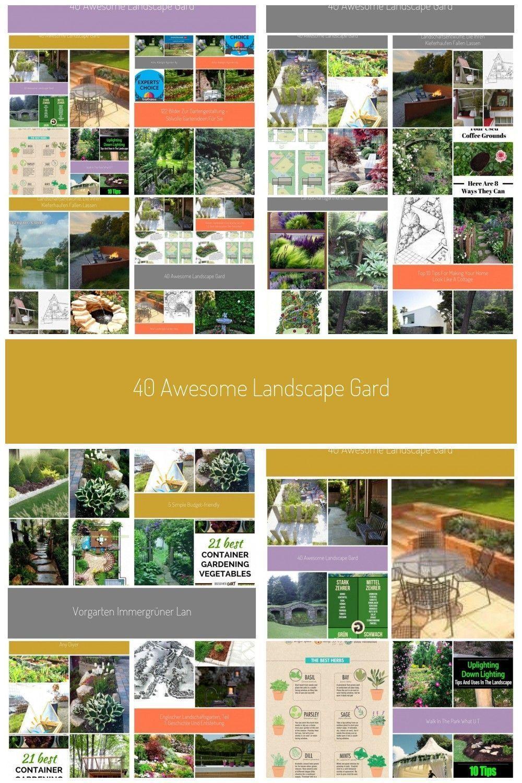 40 Fantastische Landschaftsgarten Design Ideen 40 Fantastische Landschaftsgarten Design Ideen In 2020 Garden Landscape Design Garden Ideas Split Level Garden Design