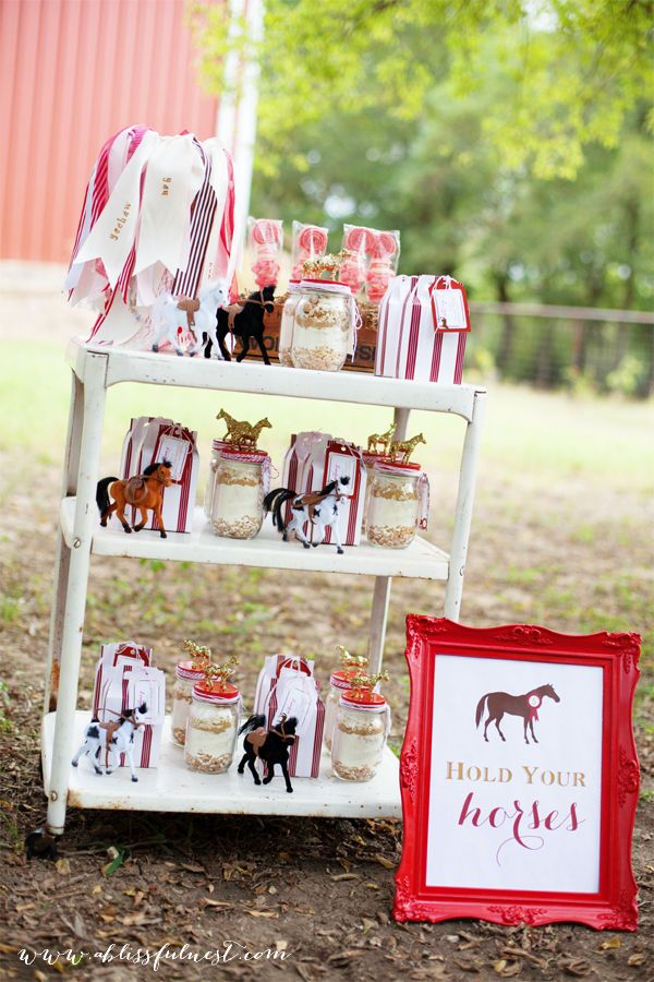 horse party by a blissful nest 024 laurens horse party horse party favors