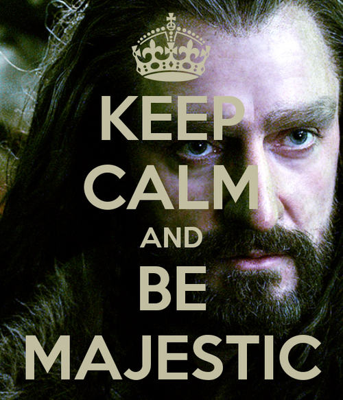 Thorin. Fangirling on Pinterest now because its a lot safer than tumblr. All the Baggenshield is making my eyes burn!