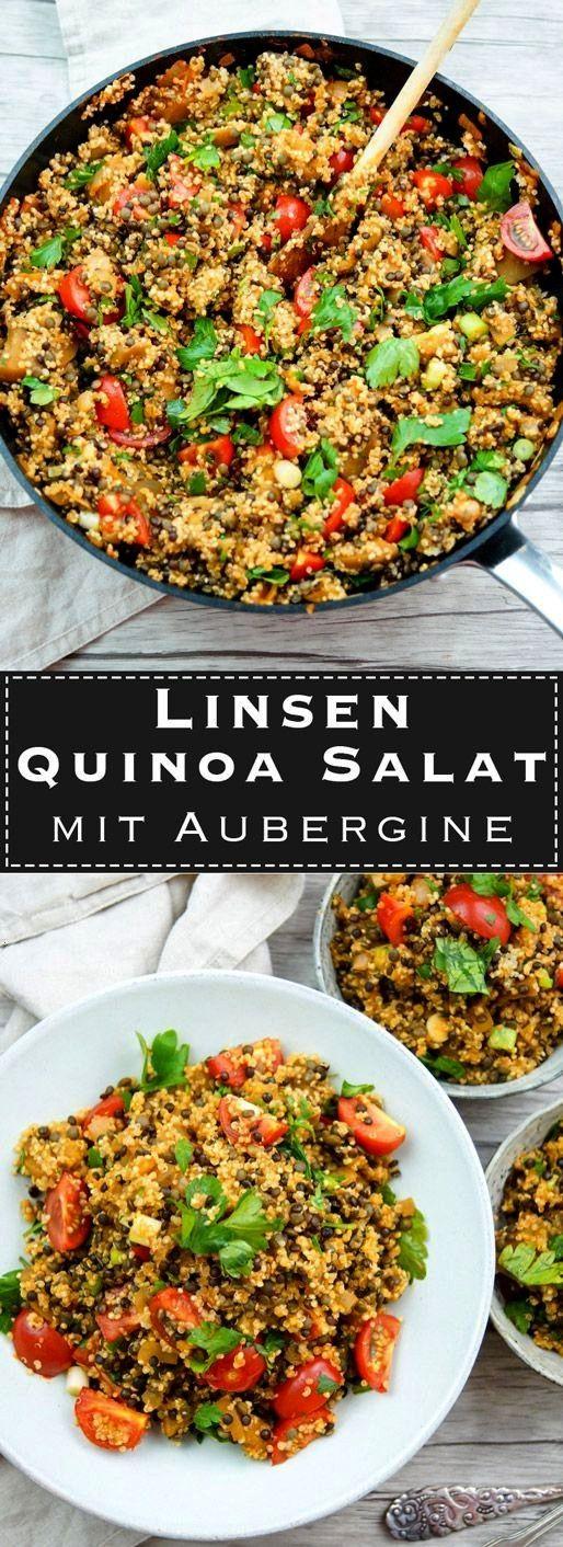Salat mit Aubergine - Anne-#chickensaladQuinoa Salat mit Aubergine - Anne-#chickensalad  This Spana