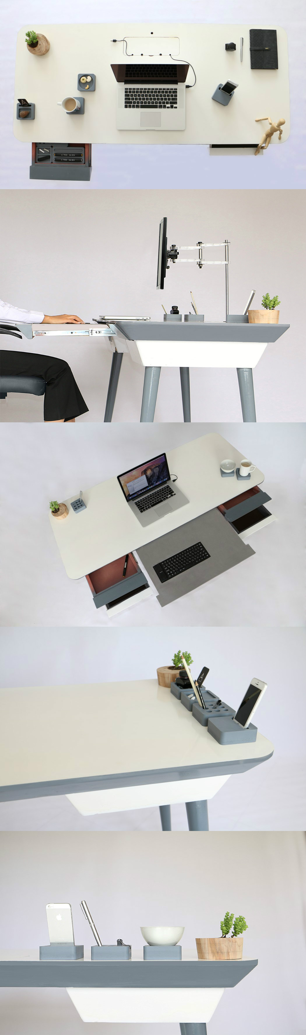 Möbeldesign Verdienst The Work Desk You Deserve Read More At Yanko Design Office