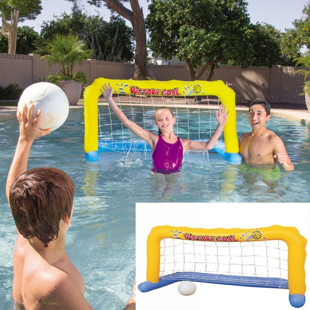 Inflatable Football Goal Volleyball Basketball Water Balloons Swimming Pool Sports Game Toys Beach Party Ball For Children Aduld Swimming Pool Toys Swimming Pool Floats Inflatable Swimming Pool