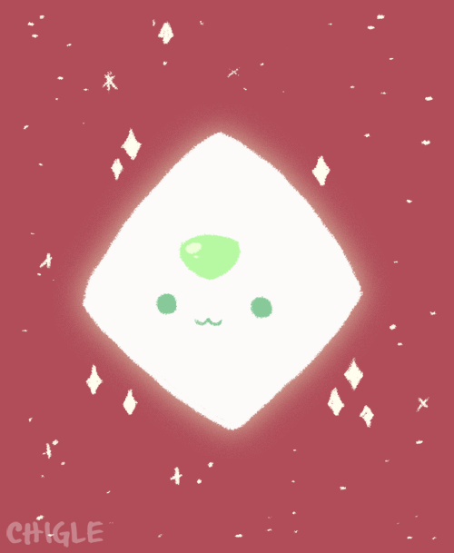 so smol (just had to draw smol Peridot when i saw this)