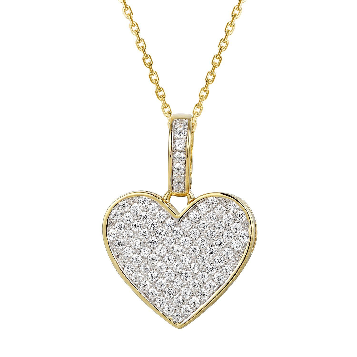 345461a735b2 NWT Swarovski Crystal Explore Heart Pendant Necklace Silver Pink  Valentine s Day