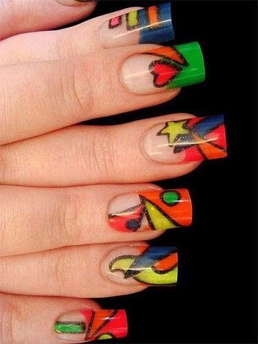 Latest Acrylic Nail Ideas 2014