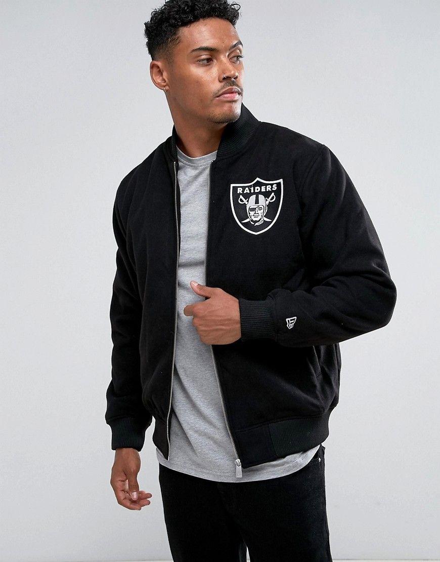 New Era Oakland Raiders Bomber Jacket Black Bomber Jacket Black Bomber Jacket Latest Fashion Clothes [ 1110 x 870 Pixel ]