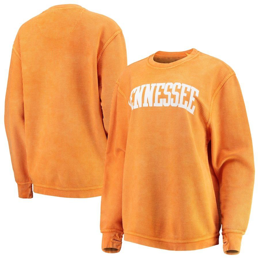 Tennessee Volunteers Pressbox Women S Comfy Cord Vintage Wash Basic Arch Pullover Sweatshirt Tennessee Orange In 2020 Sweatshirt Stylish Sweatshirts Pullover Sweatshirt [ 900 x 900 Pixel ]