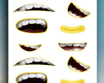 graphic regarding Minion Mouth Printable titled minion mouth - Google zoeken niñas Minions, Minion get together
