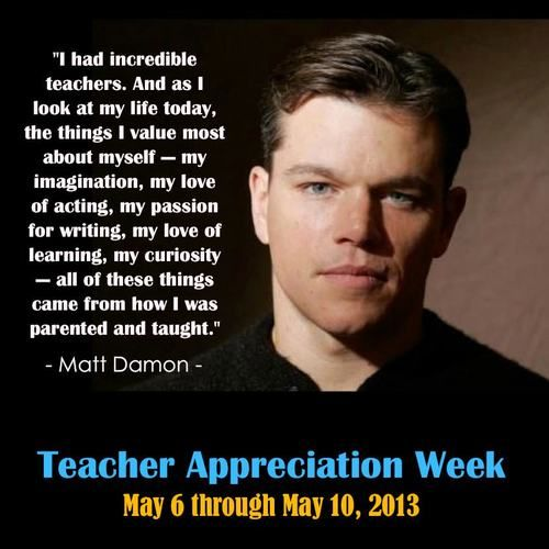 Image result for matt damon quotes