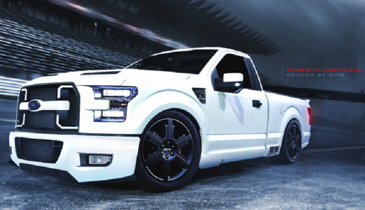 2018 Ford F 150 Lightning Side View Ford Lightning Dropped Trucks Ford Truck