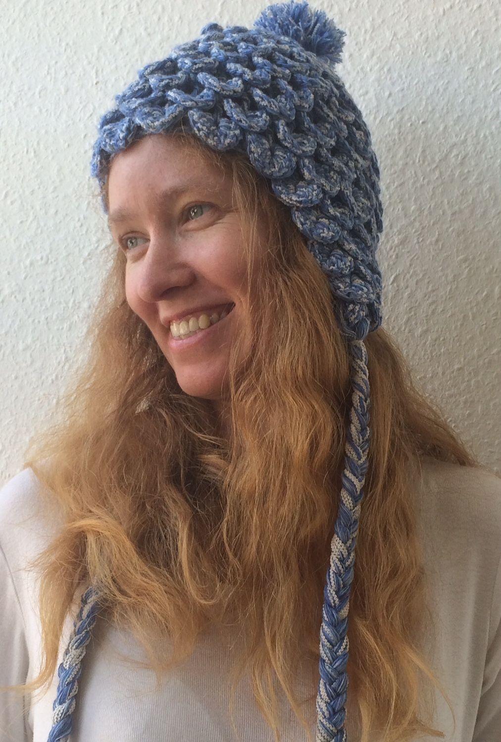 Wollcraft: Eskimo-Wollmütze im Schuppen- bzw. Krokodil-Muster ...
