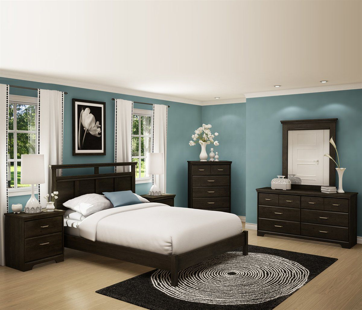 Shop South Shore Furniture 3577203 Gravity Platform Bed at ...