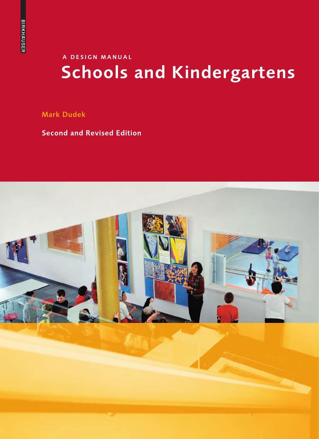 Schools and kindergartens a design manual by Birkhäuser - issuu