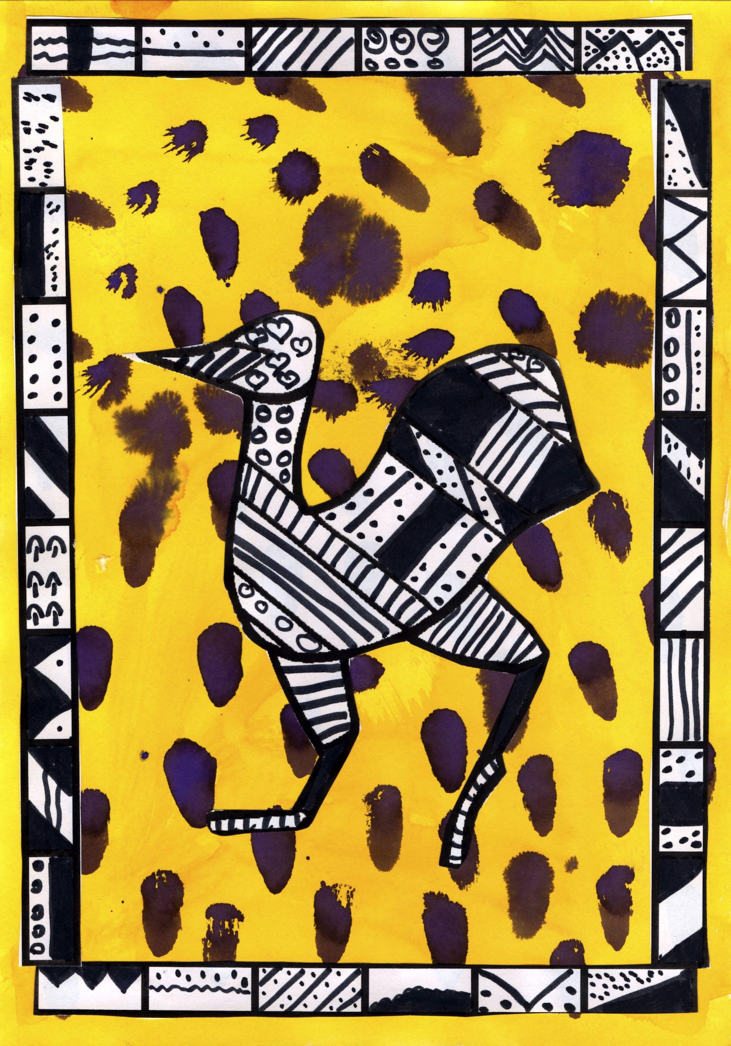 art africain a l'ecole maternelle